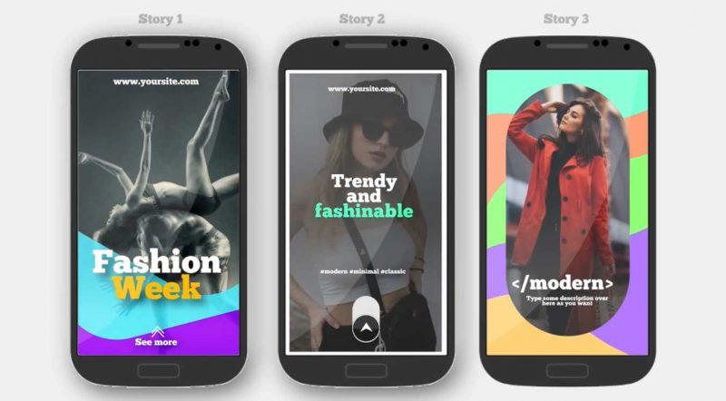 Instagram Stories V.4 by The Media Stock